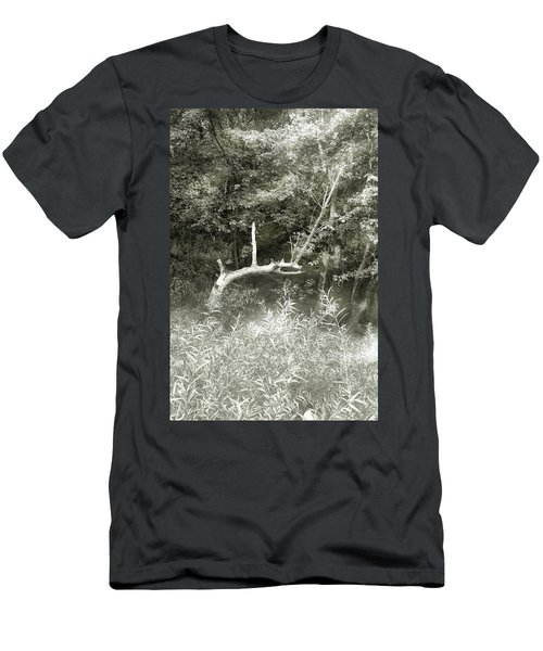 Men's T-Shirt (Slim Fit) featuring the photograph Dragon Bones by Mary Almond