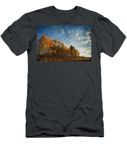 Dressed In Autumn Colors Men's T-Shirt (Athletic Fit)