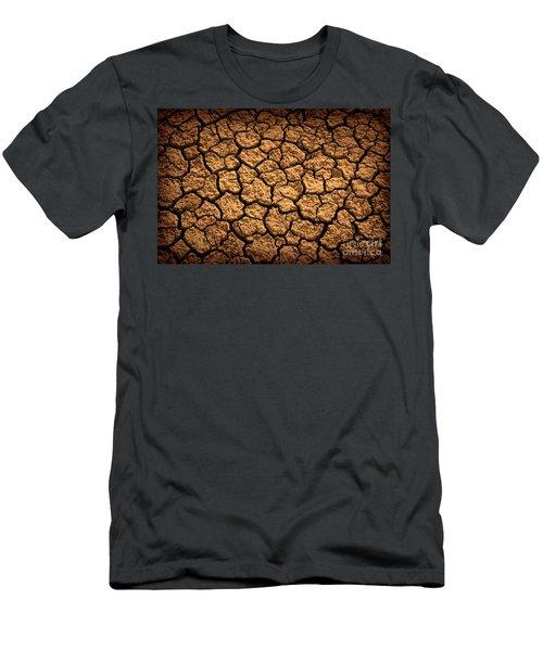 Dried Terrain Men's T-Shirt (Athletic Fit)