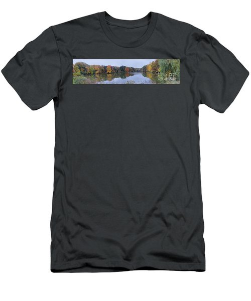 Men's T-Shirt (Slim Fit) featuring the photograph Durand Lake by William Norton
