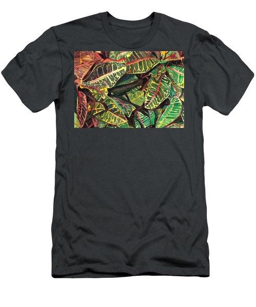 Elena's Crotons Men's T-Shirt (Athletic Fit)