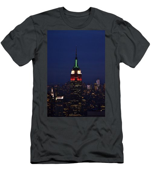 Empire State Building1 Men's T-Shirt (Athletic Fit)