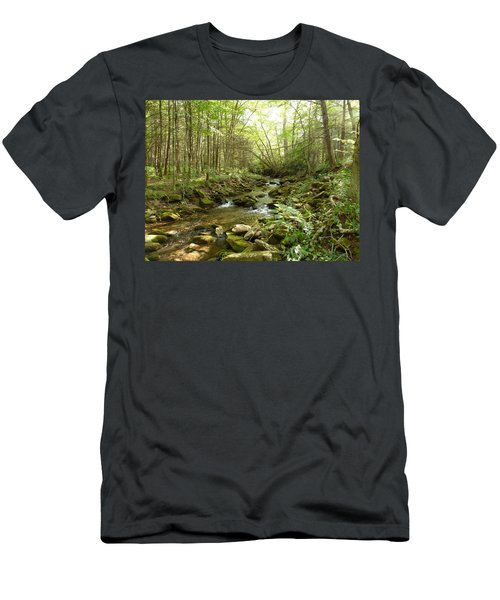 Enchanted Stream Men's T-Shirt (Athletic Fit)