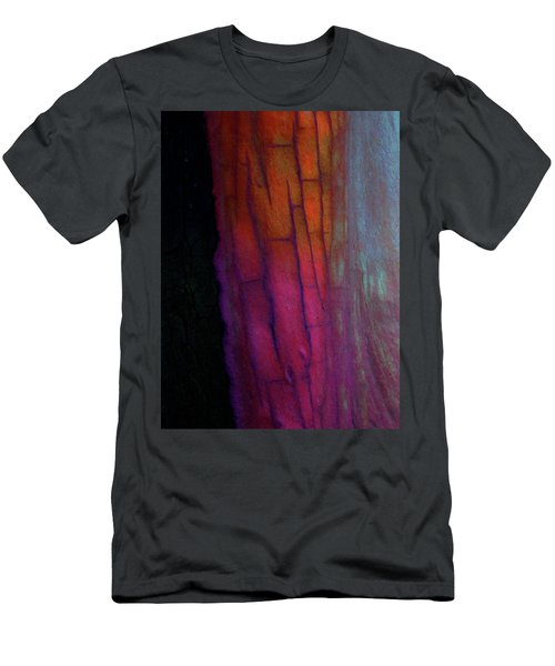 Men's T-Shirt (Slim Fit) featuring the digital art Enter by Richard Laeton