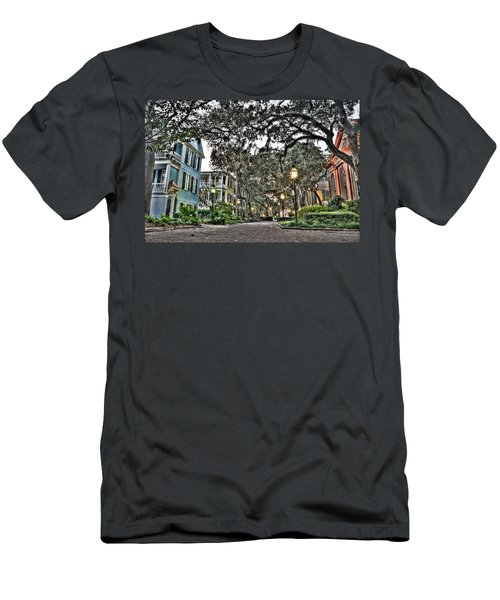 Evening Campus Stroll Men's T-Shirt (Athletic Fit)