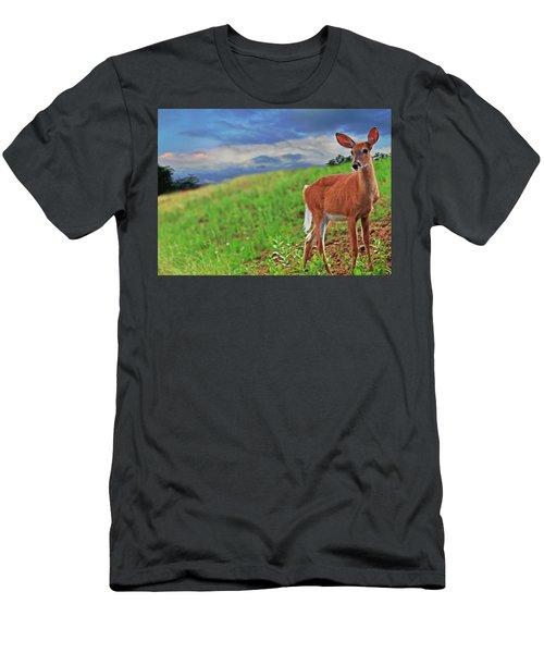 Fawn Men's T-Shirt (Athletic Fit)