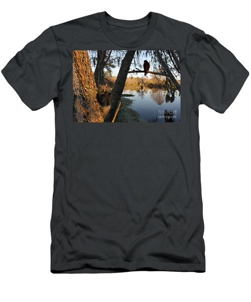 Men's T-Shirt (Slim Fit) featuring the photograph Feel Like Being Watched by Dan Friend