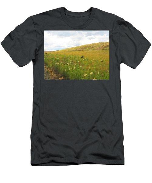 Field Of Dandelions Men's T-Shirt (Athletic Fit)