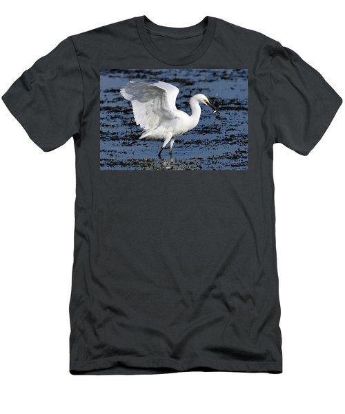 Fishing Dance Men's T-Shirt (Athletic Fit)
