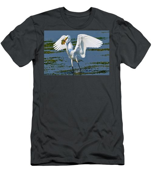 Fish'n In The Morning Men's T-Shirt (Athletic Fit)