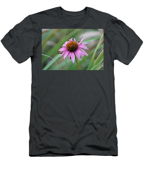Flower At Waterfall Glen Forest Preserve Men's T-Shirt (Athletic Fit)