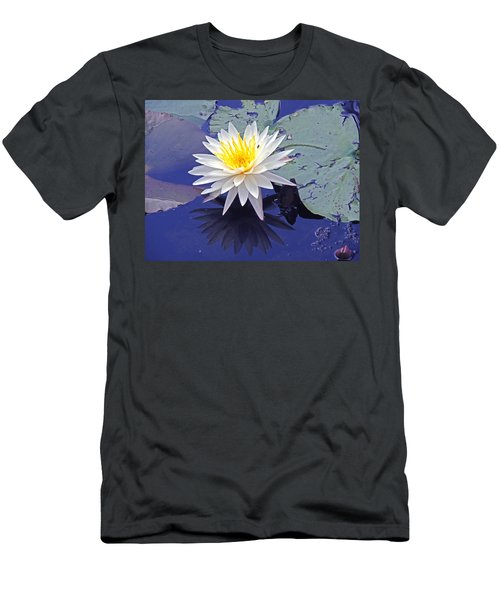 Flowering Lily-pad- St Marks Fl Men's T-Shirt (Athletic Fit)