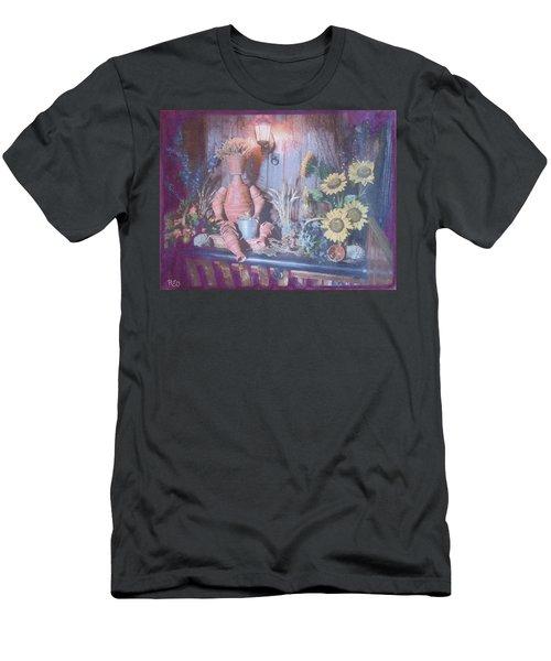 Flowerpotman Men's T-Shirt (Athletic Fit)