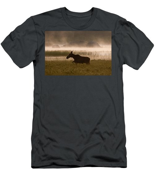Foggy Stroll Men's T-Shirt (Athletic Fit)