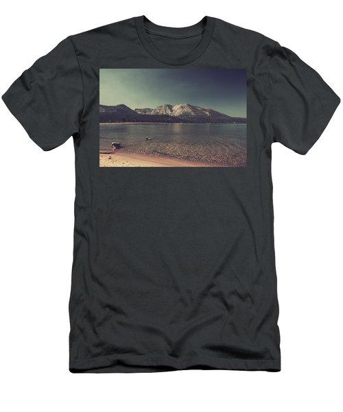 Fun At The Lake Men's T-Shirt (Athletic Fit)