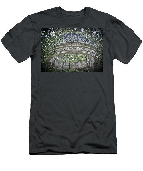 Gazebo At Longwood Gardens Men's T-Shirt (Athletic Fit)