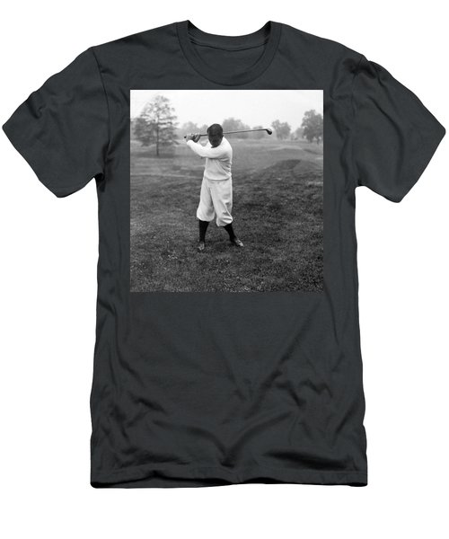 Men's T-Shirt (Slim Fit) featuring the photograph Gene Sarazen - Professional Golfer by International  Images