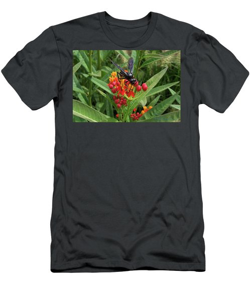 Giant Wasp Men's T-Shirt (Athletic Fit)