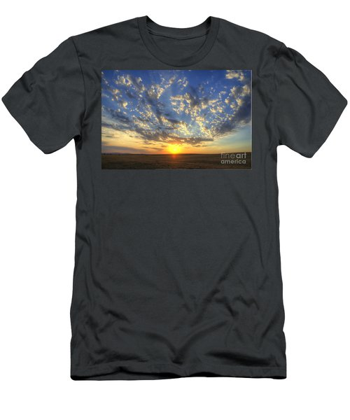 Glorious Sunrise Men's T-Shirt (Slim Fit) by Jim And Emily Bush