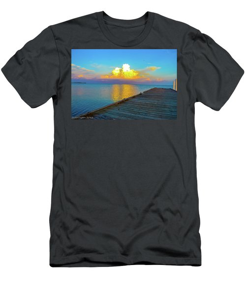 Gods' Painting Men's T-Shirt (Athletic Fit)