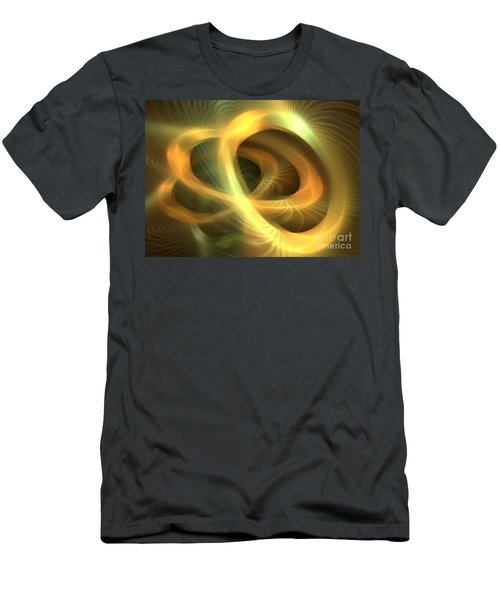 Golden Rings Men's T-Shirt (Athletic Fit)