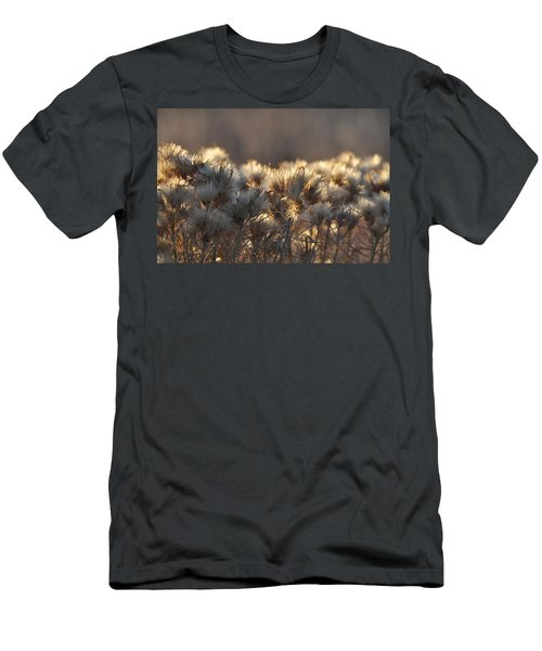 Men's T-Shirt (Slim Fit) featuring the photograph Gone To Seed by Fran Riley