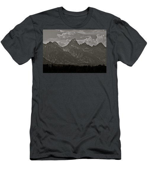 Men's T-Shirt (Slim Fit) featuring the photograph Grand Tetons by Eric Tressler