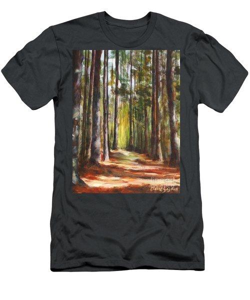 Great Brook Farm Summer Path Men's T-Shirt (Athletic Fit)