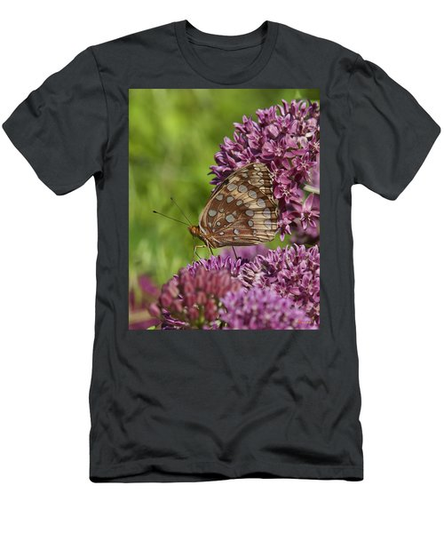 Great Spangled Fritillary Din194 Men's T-Shirt (Athletic Fit)
