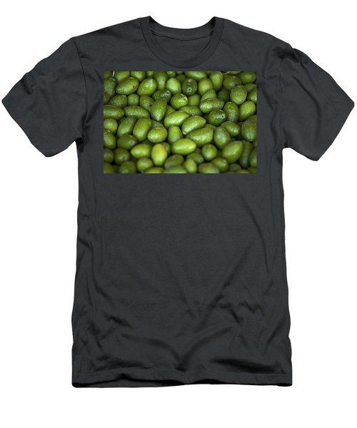 Green Olives Men's T-Shirt (Athletic Fit)