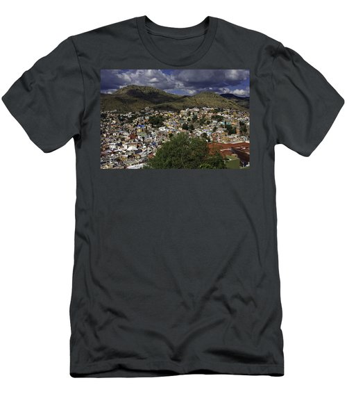 Men's T-Shirt (Slim Fit) featuring the photograph Guanajuato Vista No. 1 by Lynn Palmer