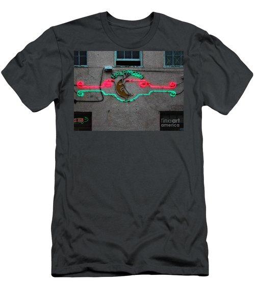 Half Moon Bar New Orleans Men's T-Shirt (Slim Fit) by Kathleen K Parker