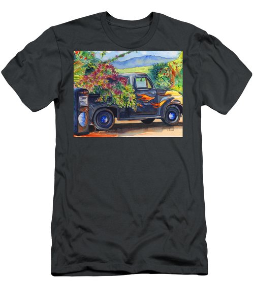 Hanapepe Truck Men's T-Shirt (Athletic Fit)