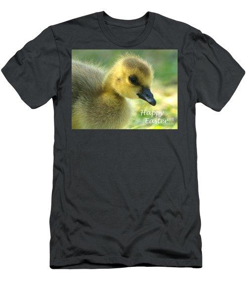 Happy Easter Gosling Men's T-Shirt (Athletic Fit)