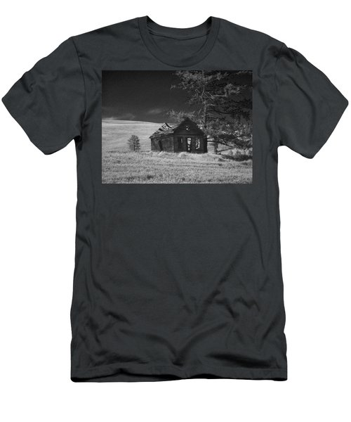 Haunted House Men's T-Shirt (Athletic Fit)