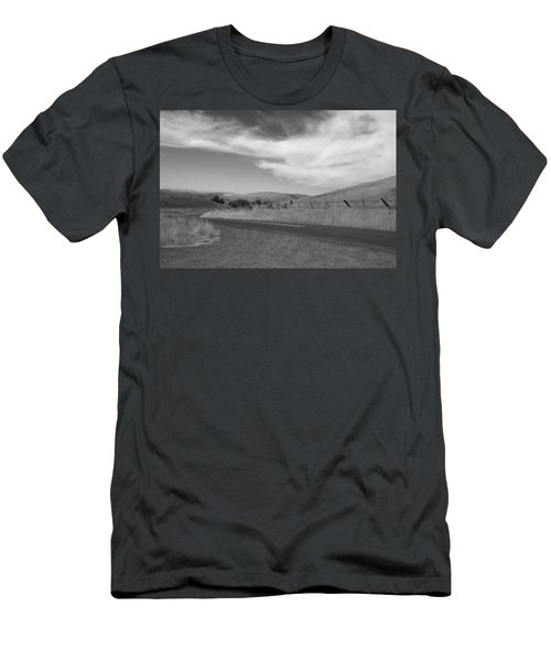 Men's T-Shirt (Slim Fit) featuring the photograph Heading Inland by Kathleen Grace