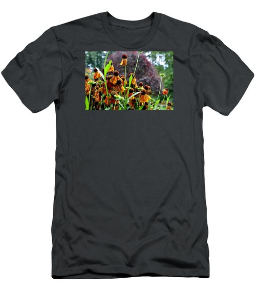 Helenium Sneezeweed  Men's T-Shirt (Slim Fit) by Tanya  Searcy