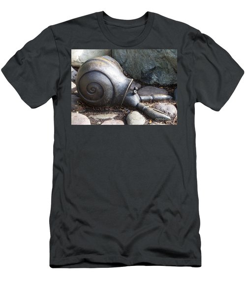 Men's T-Shirt (Slim Fit) featuring the photograph Hermit Crab by Chalet Roome-Rigdon