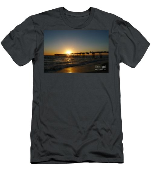 Hermosa Beach Sunset Men's T-Shirt (Athletic Fit)