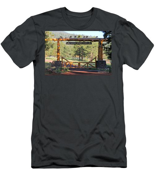 Hidden Meadow Ranch Men's T-Shirt (Athletic Fit)