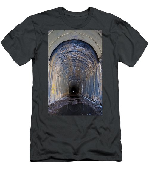 Hidden Tunnel Men's T-Shirt (Athletic Fit)