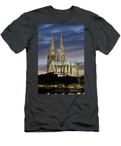 High Cathedral Of Sts. Peter And Mary In Cologne Men's T-Shirt (Athletic Fit)