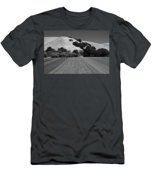Men's T-Shirt (Slim Fit) featuring the photograph Hillside Farmland by Kathleen Grace