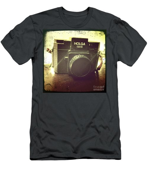 Men's T-Shirt (Slim Fit) featuring the photograph Holga by Nina Prommer