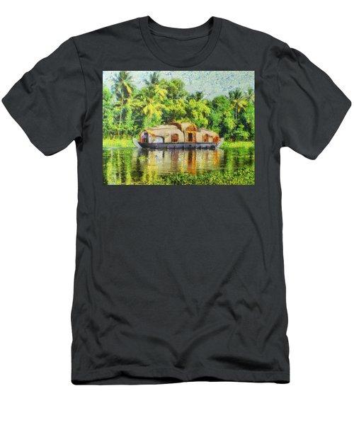 Houseboat Men's T-Shirt (Athletic Fit)