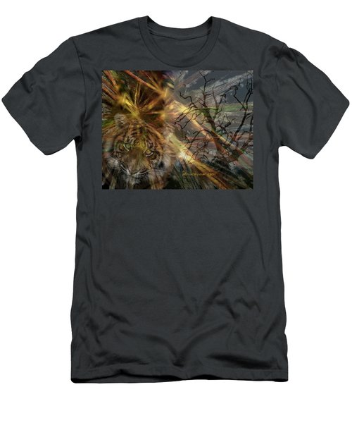 Men's T-Shirt (Slim Fit) featuring the photograph Hunter by EricaMaxine  Price