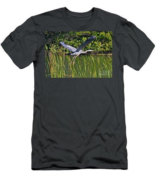 In Flight Men's T-Shirt (Athletic Fit)