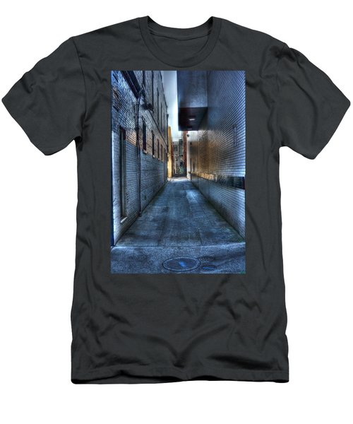In The Alley Men's T-Shirt (Slim Fit) by Dan Stone