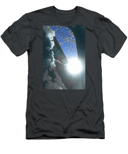 Men's T-Shirt (Slim Fit) featuring the photograph In The Cold Of The Sun by Steve Taylor