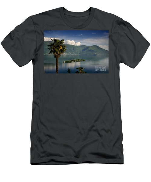 Islands On An Alpine Lake Men's T-Shirt (Athletic Fit)